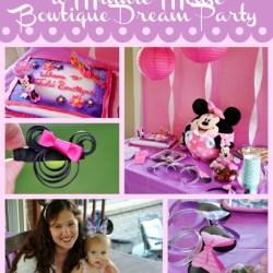 Minnie Mouse Bowtique Dream Party Celebration