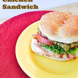 Red Robin Copycat California Chicken Sandwich