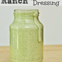 Cilantro Lime Ranch Salad Dressing