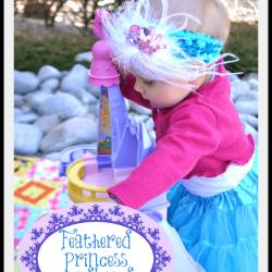 Feathered Princess Headband