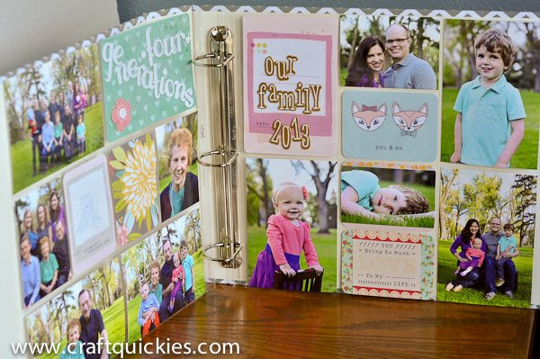 Project Life's Dear Lizzy Fifth and Frolic kit makes scrapbooking quick, simple, and BEAUTIFUL! #projectlife #americancrafts
