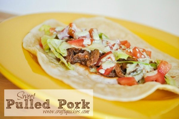 Sweet Pulled Pork Recipe