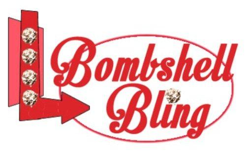 Bombshell Bling Blog Logo for Post