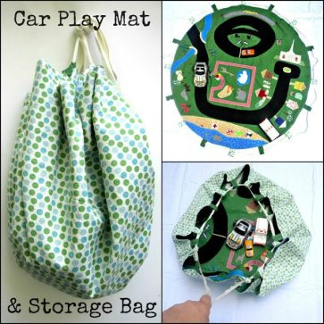 Car Play Mat & Storage Bag