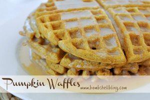 PUmpkin Waffles by Bombshell Bling