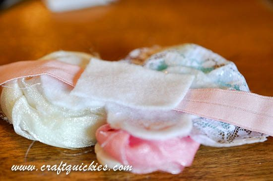 Vintage Flair Rolled Flower Headband from Craft Quickies-9