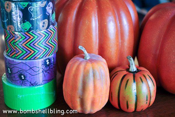 Duck Tape Pumpkins-1