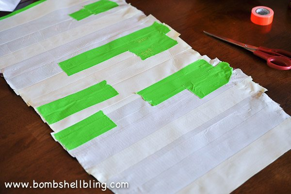 Duck Tape Trick or Treat Bag-6