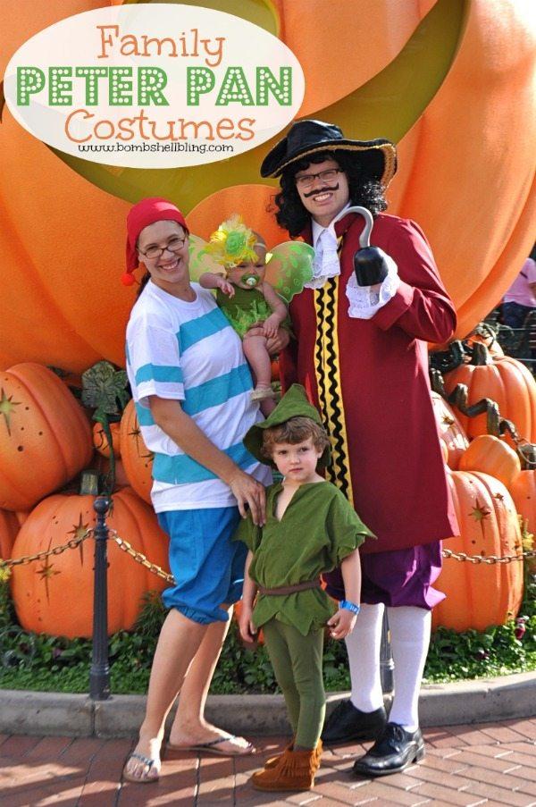Family Peter Pan Costumes on Bombshell Bling