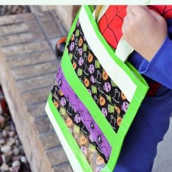 Make Yourself a Glow-in-the-Dark Trick or Treat Bag!