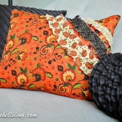 Fall Ruffle Pillows