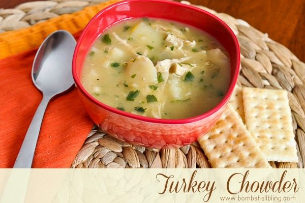Turkey Chowder from Bombshell Bling