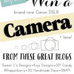 Win a DSLR Camera + Lens!