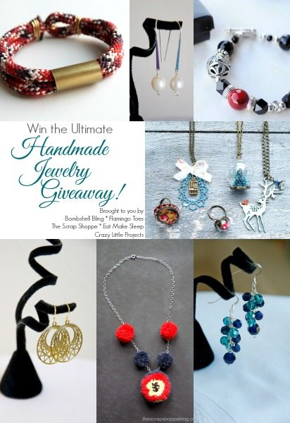OMG! What an amazing prize package of 11 handmade jewelry items!!