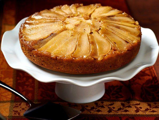 BBB pear ginger upside down cake