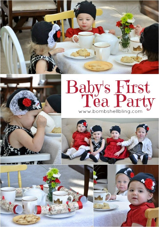 This baby tea party is PRECIOUS!!!!