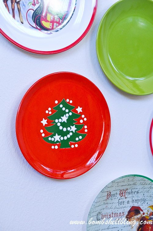 Christmas Plate Wall-12