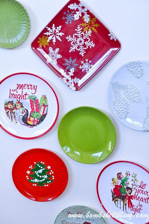 Christmas Plate Wall-16
