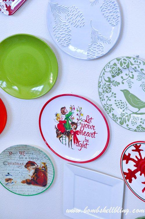 Christmas Plate Wall-19