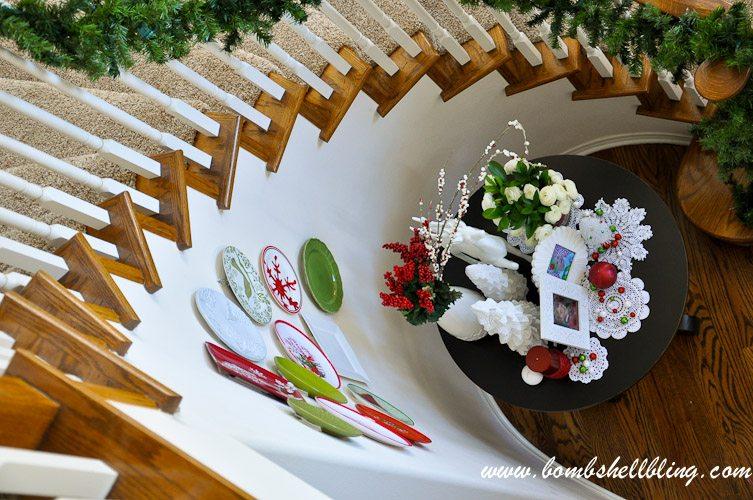 Christmas Plate Wall-7