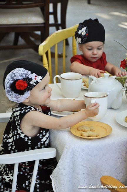 Downton Tea Party-37