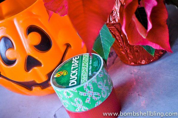 Duck Tape Planter-2