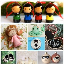 Etsy Ornament Gift Guide 2014