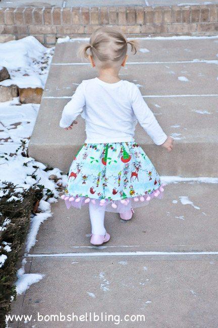 Pom Pom Twirly Skirt-24
