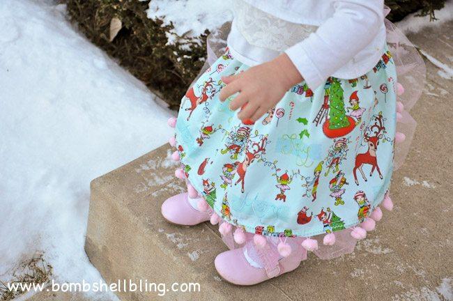 Pom Pom Twirly Skirt-25