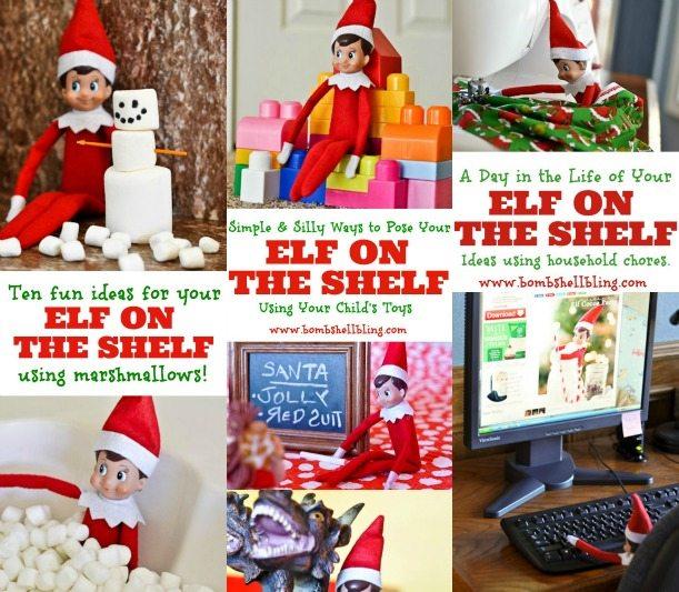 Elf On The Shelf Ideas Using Toys