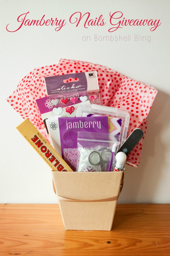 Win a set of Jamberry Nails, along with nail tools and other goodies, on Bombshell Bling