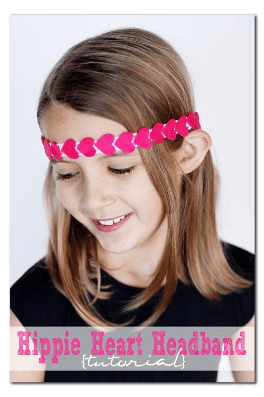 +how to make a hippie heart stretchy headband copy
