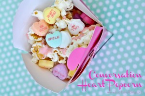 Conversation Heart Popcorn from Bombshell Bling