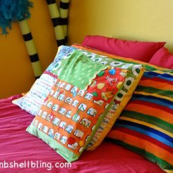 Dr. Seuss Room: Fabulously Fun DIY Pillows