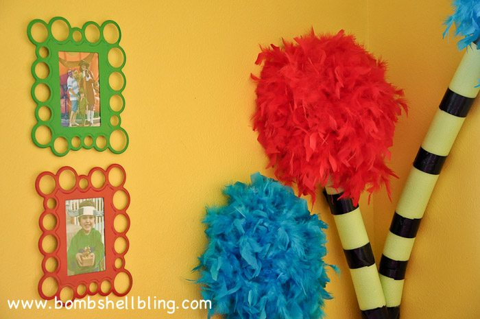 Dr. Seuss Themed Room : How to Make Truffula Trees