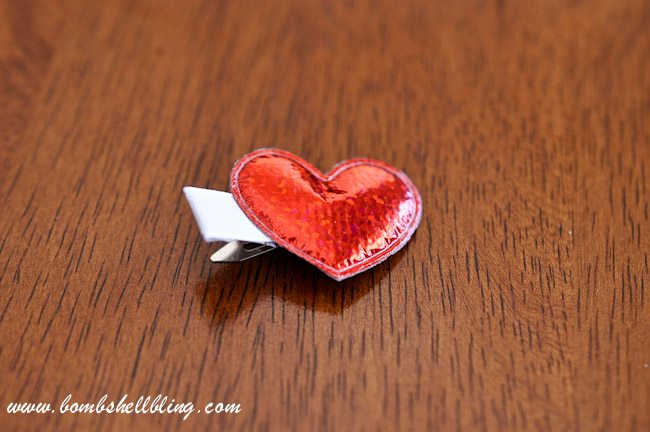 Simple Heart Hair Clip-12