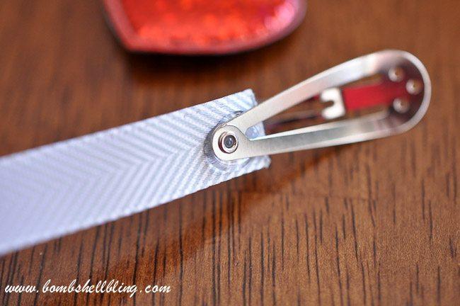 Simple Heart Hair Clip-3
