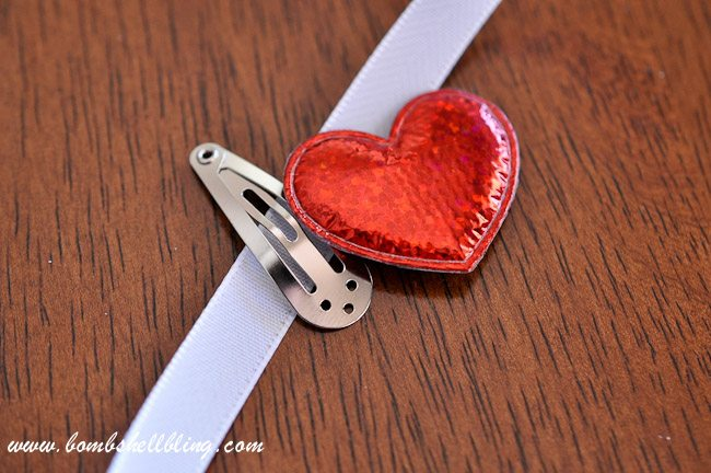 Simple Heart Hair Clip
