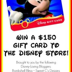 $150 Disney Store Giveaway