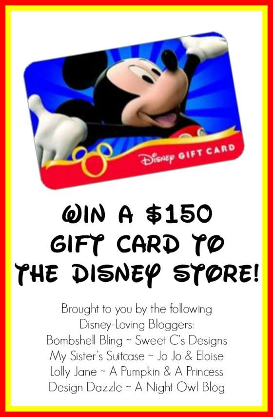Win a $150 Disney Gift Card!