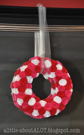 *vday wreath
