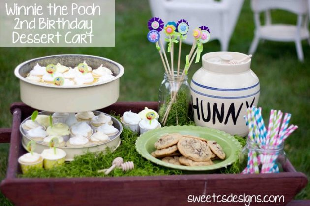 25 Winnie the Pooh ideas with recipes, projects, tutorials, and printables for the sweetest birthday party this side of the 100-acre wood.