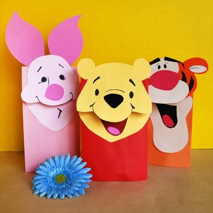 @pooh-paper-bag-puppets-craft-photo-420x420-mbecker-005