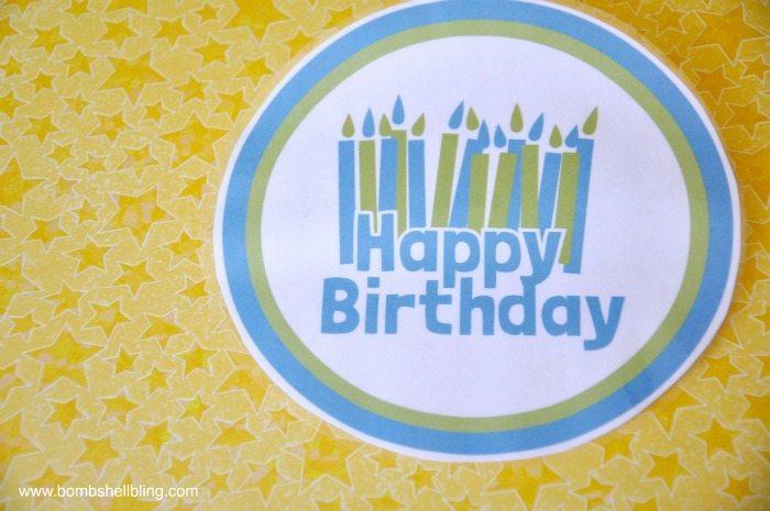 Birthday Button 2