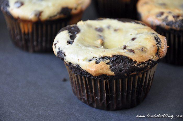 Black Bottom Cupcakes-2
