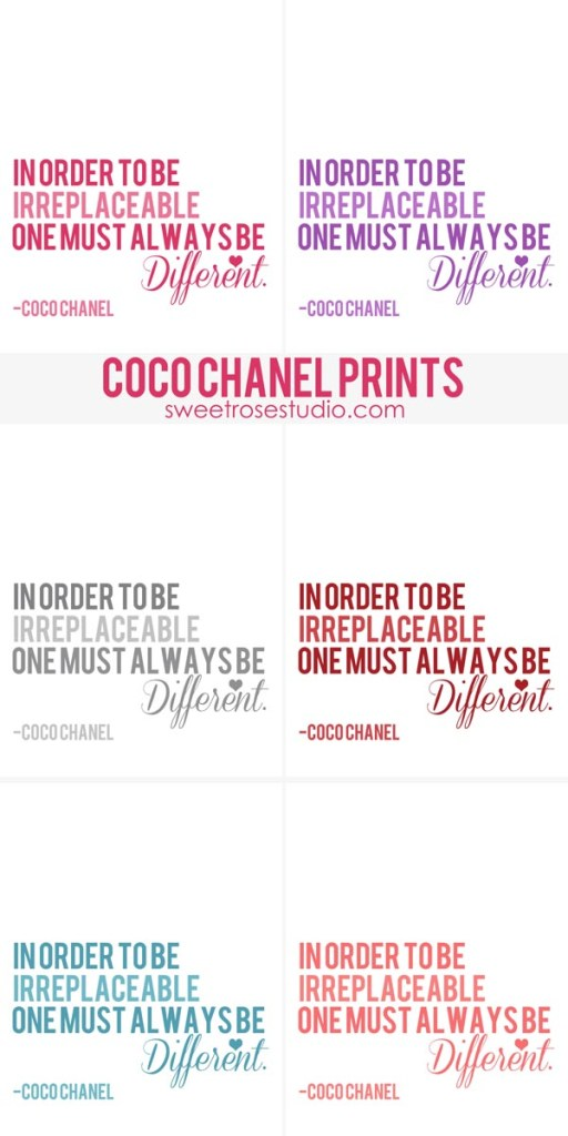 Coco-Chanel-Prints-at-Sweet-Rose-Studio
