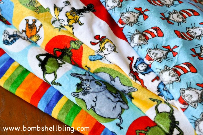 Dr Seuss Cuddle Blanket