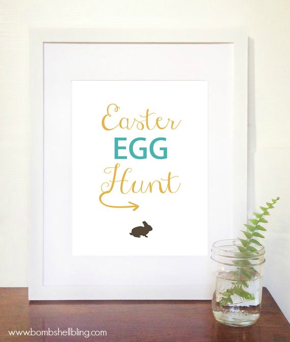 Easter Egg Hunt Printable