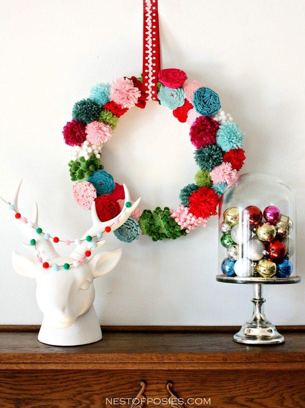 KPom-Pom-and-Posie-Wreath