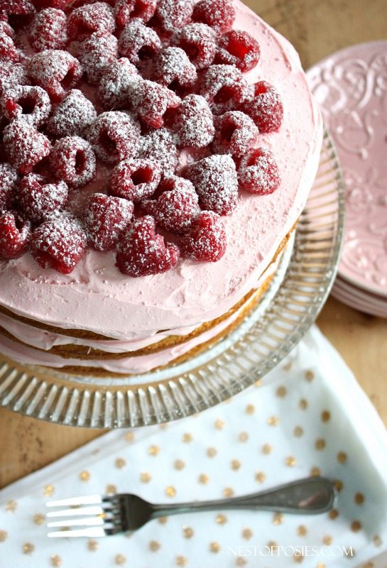 KWhat-I-like-to-call-a-Bikini-Cake-Frosting-on-the-top-and-in-the-layers.-Lemon-Raspberry-Cake